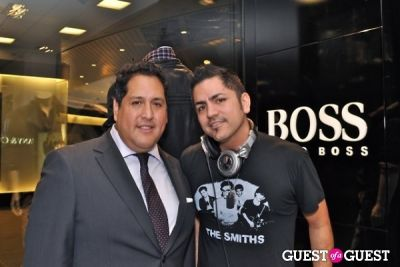 "hector -monserratte in Hugo Boss ""Boss Store"" Opening"