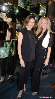heidi heinau-and-alison-zhuk in Sergio Rossi Party at Bal Harbour Shops