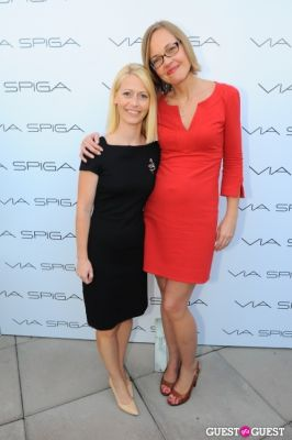 heidi hovland in VIA SPIGA 25TH ANNIVERSARY EVENT/PARTY