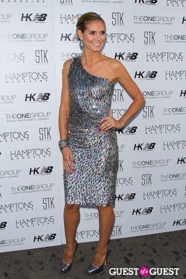 heidi klum in Hamptons Magazine Celebrates Heidi Klum's July 4th Issue Presented by New Balance