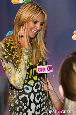 heidi klum in America's Got Talent Live at Radio City