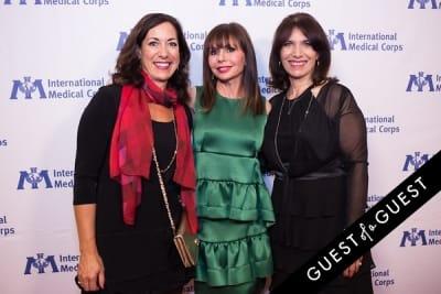 heidi murkoff in International Medical Corps Gala