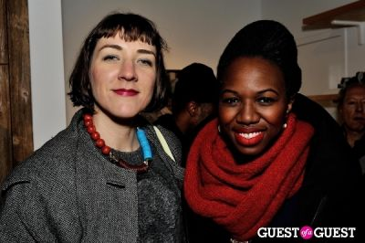 enyinne owunwanne in Mickalene Thomas' Decopolis: the talent of others opening reception