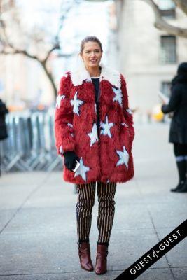 helena bordon in NYFW Street Style Day 5