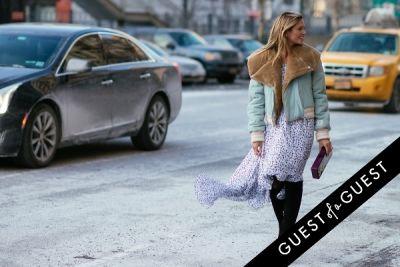 helena bordon in NYFW Street Style Day 4