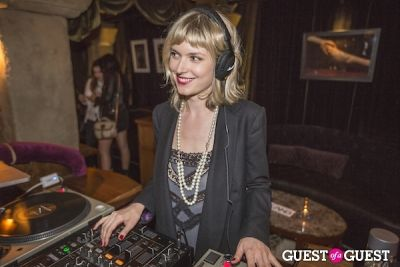 henrietta tiefenthaler in LAND Celebrates an Installation Opening at Teddy's in the Hollywood Roosevelt Hotel