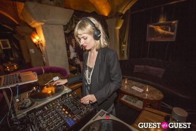 marshall headphones in LAND Celebrates an Installation Opening at Teddy's in the Hollywood Roosevelt Hotel