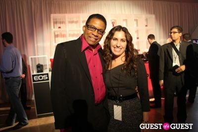 amy tunick in Canon with Herbie Hancock