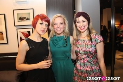 gina schiappacasse in Pop Up Event Celebrating Beauty, Art & Fashion