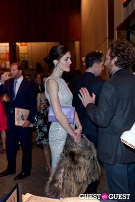 hilary rhoda in The New York Observer 25th Anniversary
