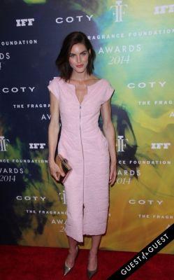 hilary rhoda in Fragrance Foundation Awards 2014