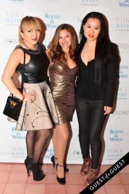 veronica rivero in The 4th Annual Silver & Gold Winter Party to Benefit Roots & Wings