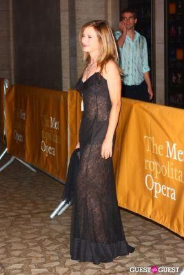 holly hunter in metropolitan opera opening night 2010