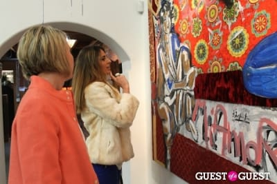 rachel brown in Domingo Zapata Presents 'A Nod to Matisse' at LAB ART Gallery