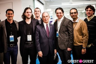 mayor michael-bloomberg in Yext Housewarming Party