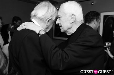 "massimo vignelli in Launch Party at Bar Boulud - ""The Artist Toolbox"""
