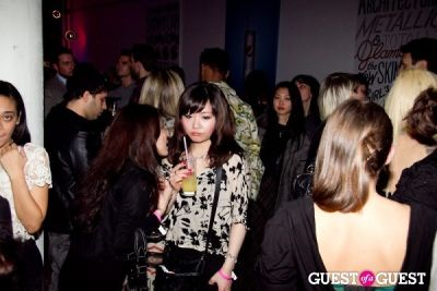 ian bradley in Charlotte Ronson Fall 2011 Afterparty