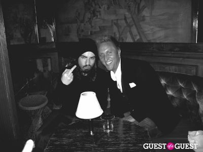 ian cripps in NYE @ Chateau Marmont