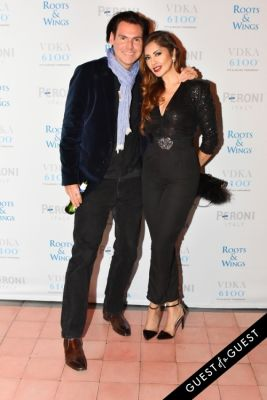 tabasum mir in The 4th Annual Silver & Gold Winter Party to Benefit Roots & Wings