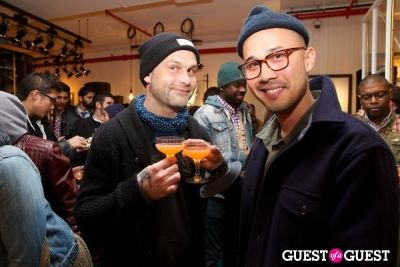 mike in Scotch & Soda Launch Party