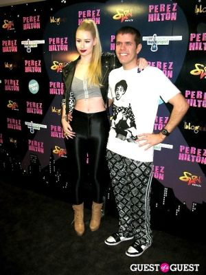 iggy azalea in Perez Hilton's One Night in NYC /Open Sky Project
