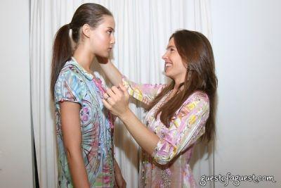 ilona struzik in Juliette Longuet Fashion show at Soho House - Sneak Peek