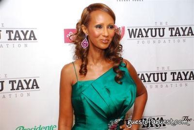 iman in The Wayuu Taya Foundation Gala