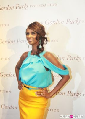 iman in The Gordon Parks Foundation Awards Dinner and Auction