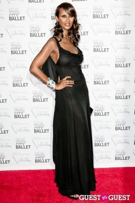 iman in New York City Ballet Fall Gala Celebrates Valentino