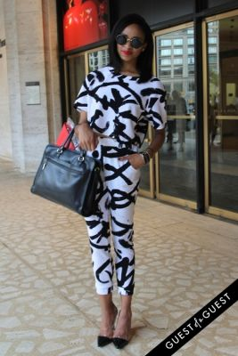 imani ellis in NYFW Style From the Tents: Street Style Day 3