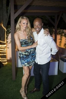 indira cesarine in The Untitled Magazine Hamptons Summer Party Hosted By Indira Cesarine & Phillip Bloch