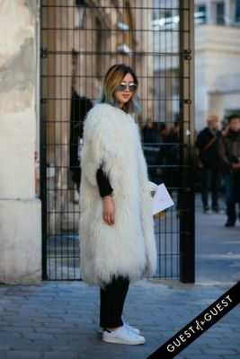 irene kim in Paris Fashion Week Pt 2