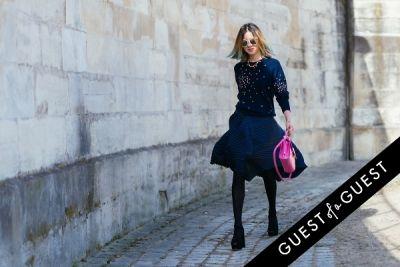 irene kim in Paris Fashion Week Pt 3
