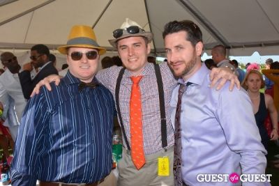 dan turner in Becky's Fund Gold Cup Tent 2013