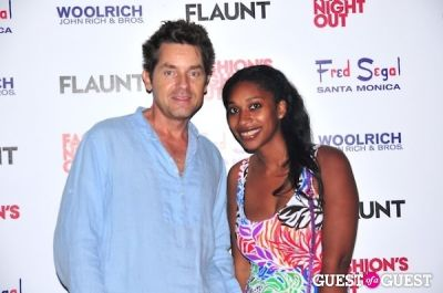 jackie arzu in Fred Segal + Flaunt Celebrates Fashion's Night Out!