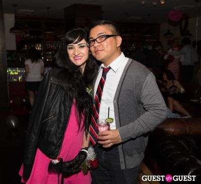 jacky in SPiN Standard Presents Valentine's '80s Prom at The Standard, Downtown
