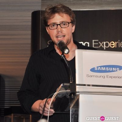 jacob slevin in IDNY at the Samsung Experience
