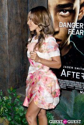 jada pinkett-smith in After Earth Premiere