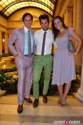 charlie manzo in The Frick Collection's Summer Soiree