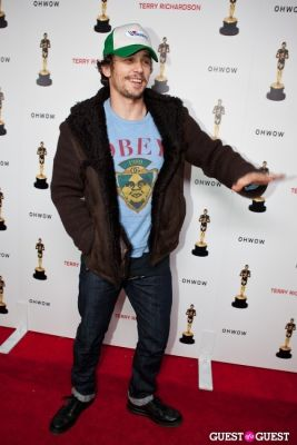 james franco in Terrywood - Terry Richardson Gallery Opening