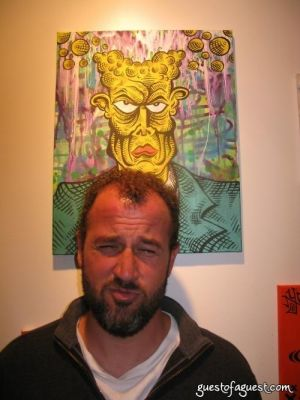 james frey in Damon Johnson Gallery Opening