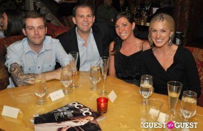 sondra ortagus in DC Modern Luxury Magazine's Lindsey Becker's Dinner for 25 Tastemakers at SAX