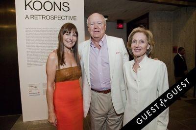beatrice stern in Jeff Koons: A Retrospective Opening Reception