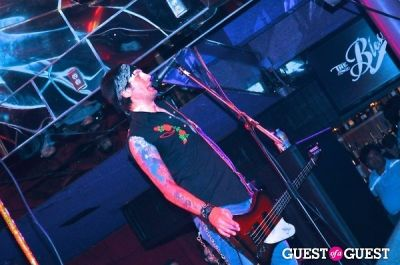 jamie zimlin in Hammered Satin's Record Release Party w/Hammered Satin/The Blessings/E*Lux