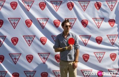 jamieson hill in Coachella: GUESS HOTEL Pool Party at the Viceroy, Day 2