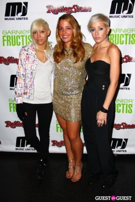 jane bang;-michelle-edger in Garnier & Rolling Stone kick off Music Unites Women's Empowerment