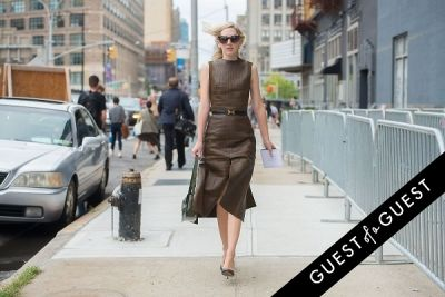 jane keltner-de-valle in Fashion Week Street Style: Day 2