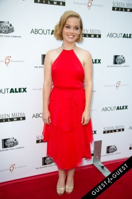 jane levy in Los Angeles Premiere of ABOUT ALEX