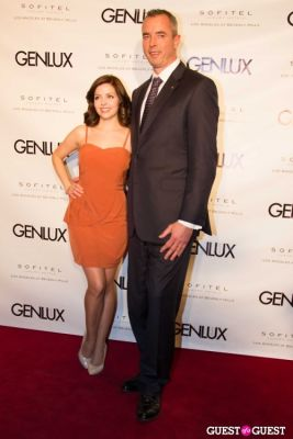 jane lilly in Genlux Magazine Winter Release Party with Kristin Chenoweth