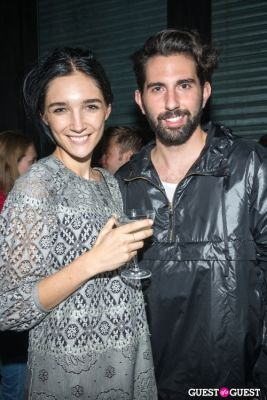 janice alida in Oliver Theyskens Theory After Party